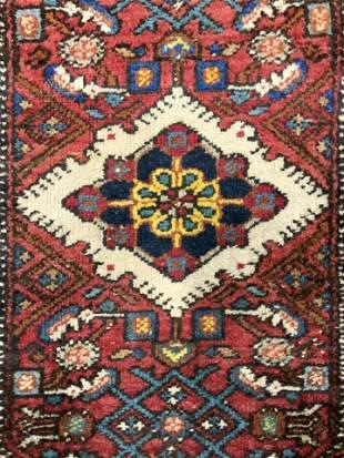 Vintage Handmade Wool Area Rug