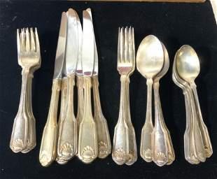 COMMUNITY Silver Plate Flatware Set 26 w Case