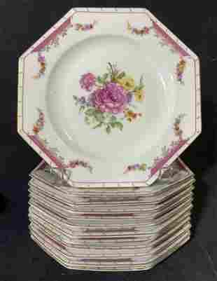 Set 12 ROSENTHAL Porcelain Plates