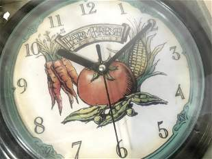 Horloge Quartz Clock, Battery Oper. NIB
