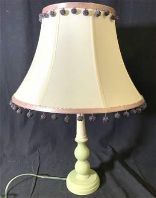 RESTORATION HARDWARE Table Lamp W Shade