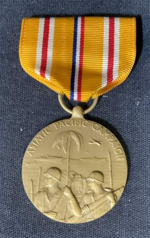 US Navy Asiatic Pacific Campaign Medal