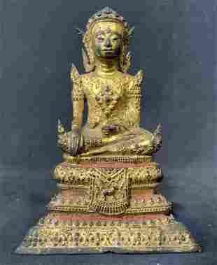Tibetan Buddhist Statue