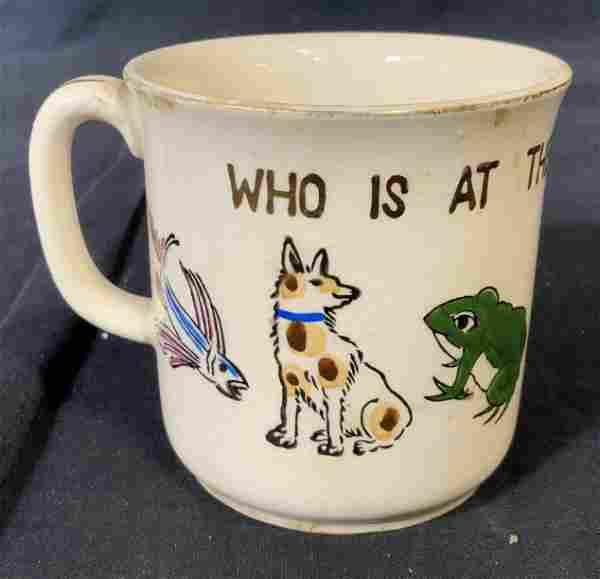 Ceramic Hand Painted Mystery Mug
