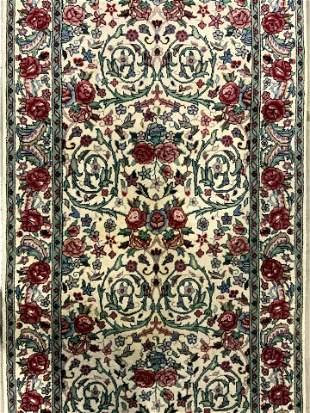 Vintage Handmade Oriental Wool Runner