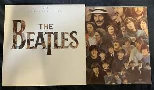Vintage THE BEATLES 20 Greatest Hits Vinyl Records