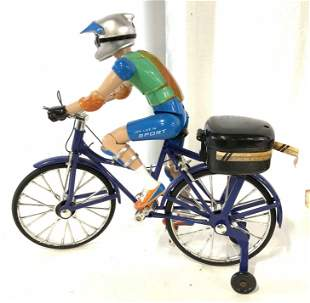 Toy: Bicycle Racer with Training Wheels