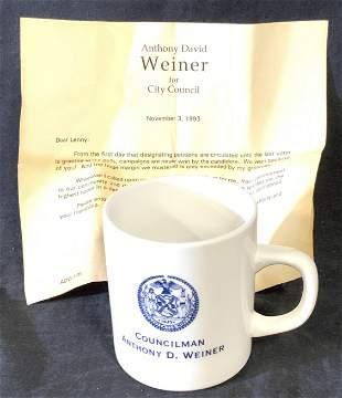 Vintage NYC Councilman Coffee Mug