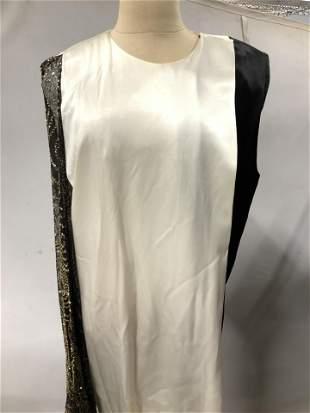 Vntg Silk Art Deco Ensemble, Christina de Lencios