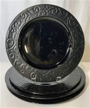 Set 4 INTERNATIONAL TABLEWORKS Ceramic Plates