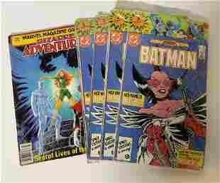 Lot 13 Vintage DC & Marvel Comic Books