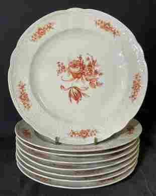 Set 8 SELTMANN WEIDEN Porcelain Plates