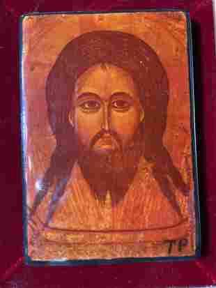 Signed Devotional Jesus Tile Art