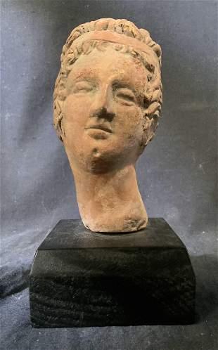 Terracotta Greco Roman Style Sculpture