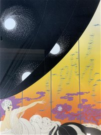 ERTE Signed Coming of Spring Serigraph
