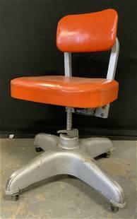 Vintage Industrial COLE-STEEL Swivel Chair