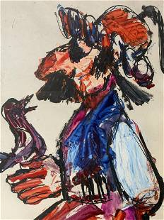 JOVAN OBICAN Signed Oil Painting
