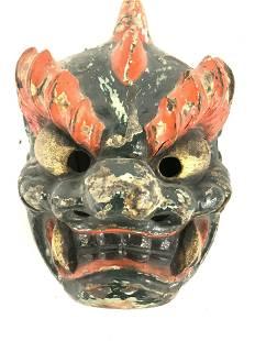 Collect. TAKASHIMAYA Hand Painted Dragon Mask,