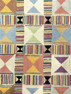 LIBBY CAMERON Hooked Wool Rug