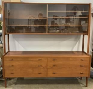 Vintage MCM Danish Hutch & Sideboard