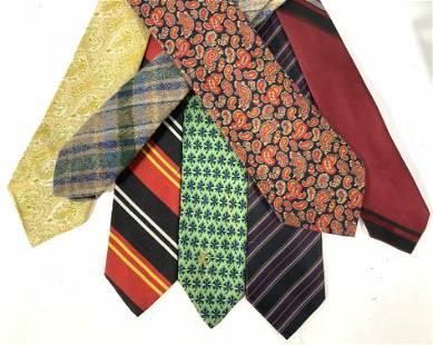 Large Lot Men's Designer Shirt Ties