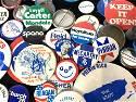 Collectible Lot Political Campaign Button Pins