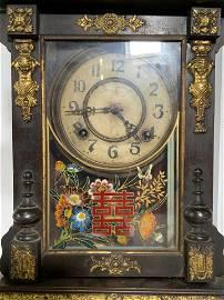 Vintage Asian Mantle Clock