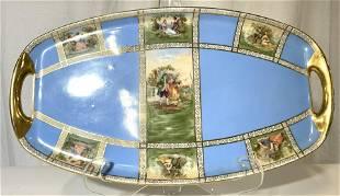 PIRKEN HAMMER Porcelain Serving Dish W Handles