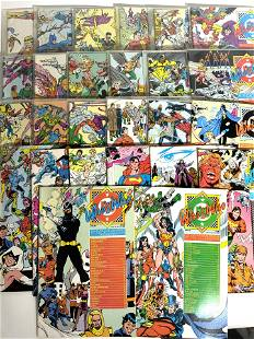 Group Lot Vintage DC Comics WHO'S WHO