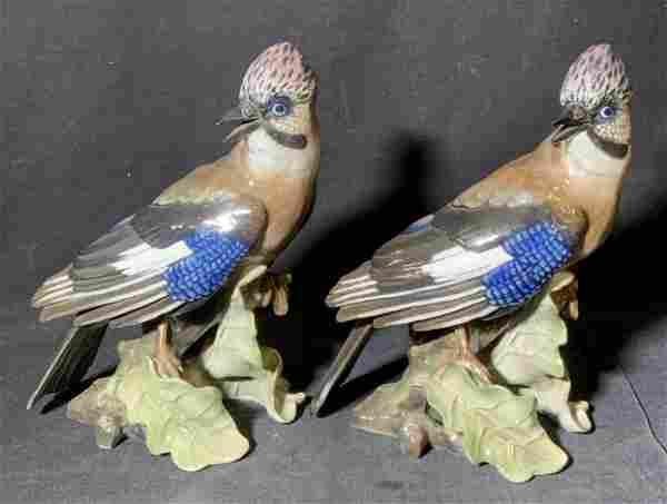 Pair Goebel W. Germany Bird Figurines