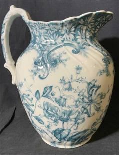 Antique Porcelain FURNIVALS Pitcher, England