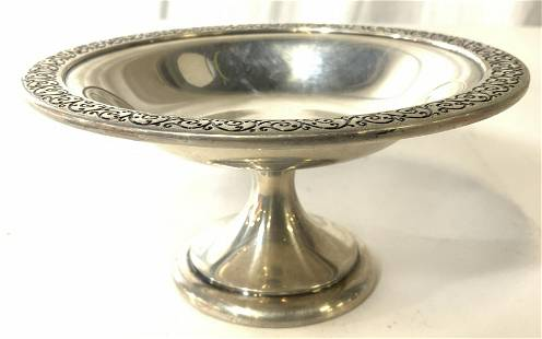 WALLACE STERLING Silver Compote Dish