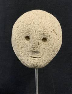 Floating Head Cement Sculpture