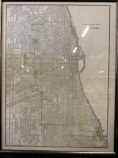Street Guide Map of Chicago