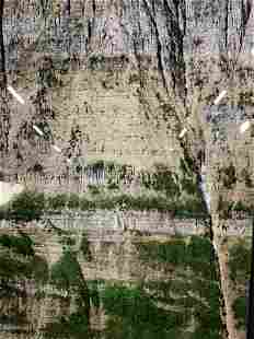 DANIEL SANDBERG Signed Grand Photograph on Glass