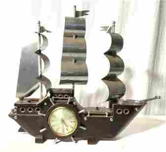 Vintage SETH THOMAS Ship Mantel Clock
