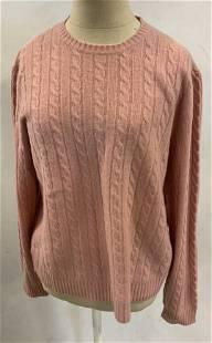 Lot 2 RALPH LAUREN XL Cashmere Cable Knit Sweaters