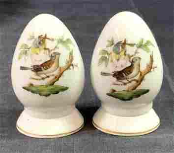 HEREND ROTHSCHILD Porcelain Shaker Pair