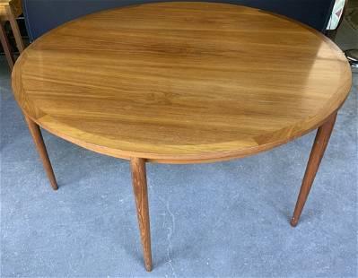 Mid Century Modern Circular Dining Table