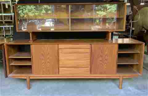 Mid Century Modern Wooden Console