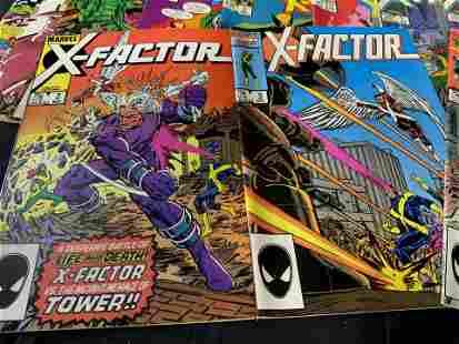 Group Lot Vintage Marvel Comics