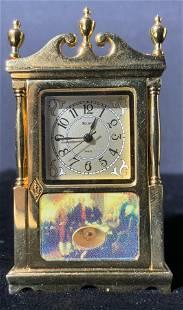 BULOVA Quartz George Washing Motif Desk Clock