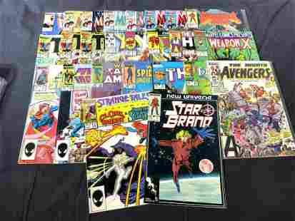Group Lot Assorted MARVEL Vintage Comics