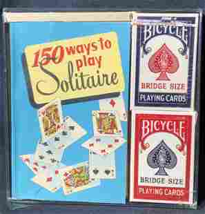 150 Ways to Play Solitaire w/ Two Bicycle Decks