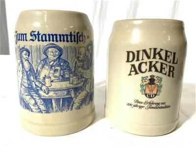 BOCKLING & DINKEL ACKER German Ceramic Mugs