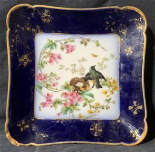 OVINGTON BROTHER Square Bird Dish