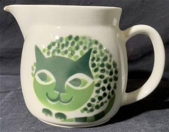 ARABIA Ceramic Cat Pitcher