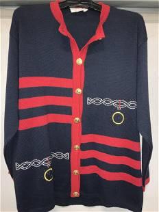 PRIMULA ROSSA Nautical Sweater Jacket