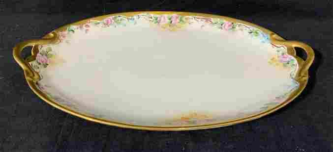 GDA FRANCE Porcelain Platter