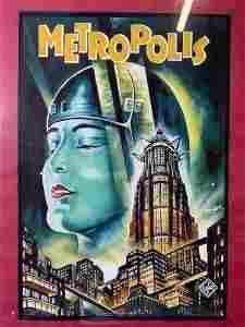 DEGEN Metropolis Movie Promotional Advertisement